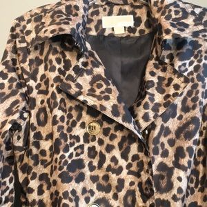 Michael Kors Trench Coat with Removable Hood